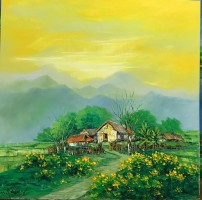 Nguyen Minh Son, Afternoon Sky - ArtOfHanoi.com