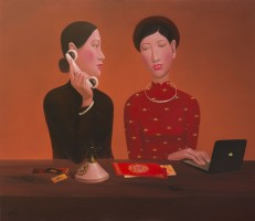 Nguyen Khac Chinh, Office's works 2 - ArtOfHanoi.com